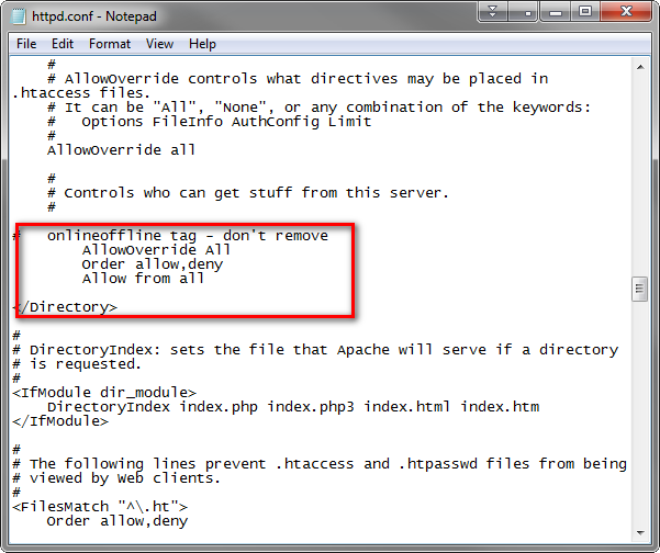 Windows – Wamp Server Apache / PhpMyAdmin 403 Access