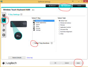 logitech k400r drivers windows 7